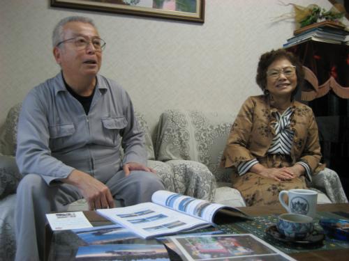 山城利雄さんと安子さん
