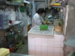 商店街の魚屋さんで、カツオを買って、刺身にしてもらいました
