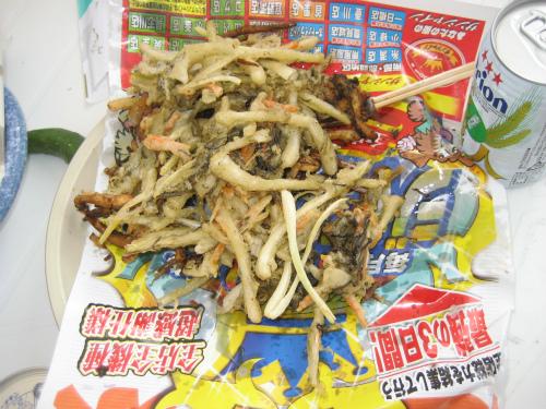 松田薫さんが試食をしてくれました