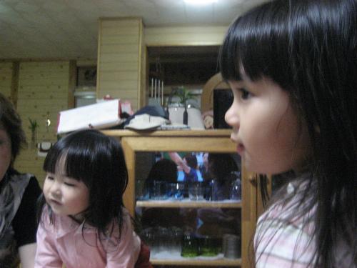 伊音ちゃんとクレアちゃん