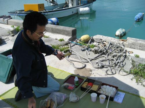 松葉博雄も入れてもらって、お参りをしました