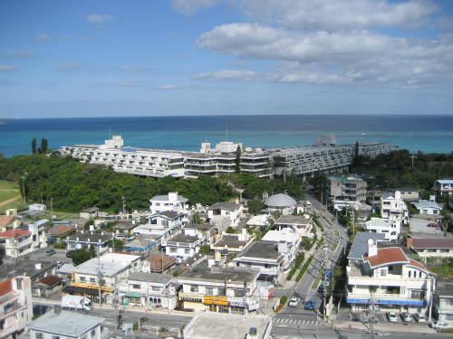 第85回沖縄訪問の最終日は、良いお天気です
