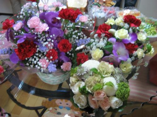 母の日の感謝のお花