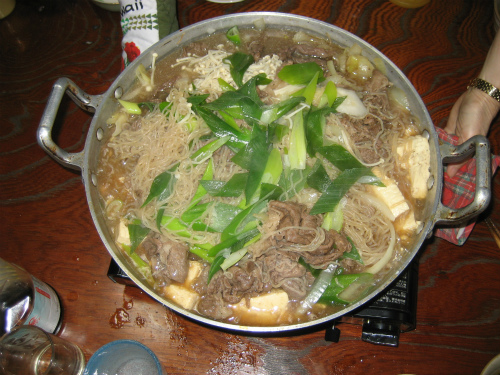 鍋いっぱいに膨れ上がってしまいました