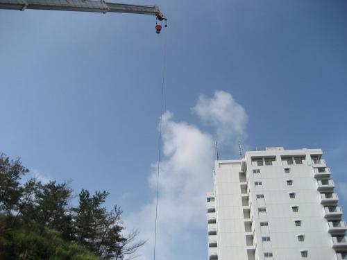 リゾートマンションの建設