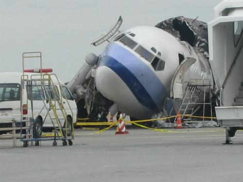 中華航空の事故機