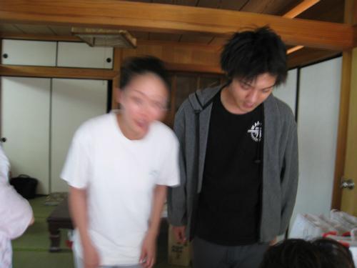 仲村時治夫妻のお家に、お礼のご挨拶に行きました