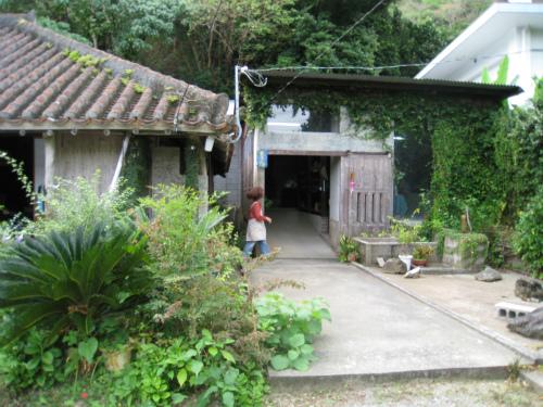 昔の沖縄の風情が残った集落