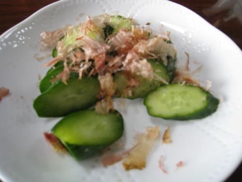 金城千賀子さんのお家で、朝ご飯を頂きました