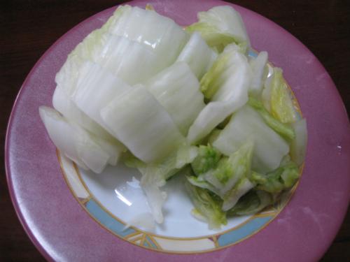 金城家の白菜