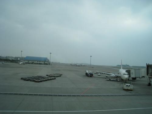 神戸空港から那覇空港へ