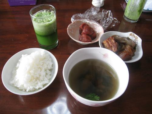 金城家の朝ご飯