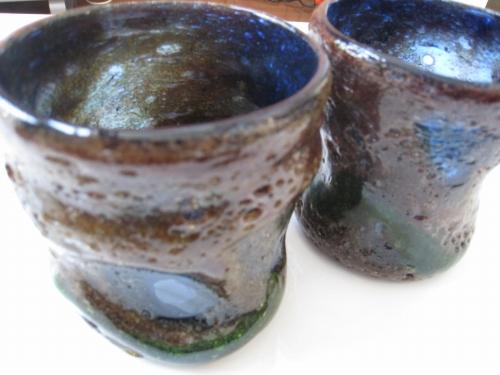 父の日のプレゼントの琉球グラス