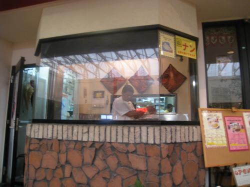 「PLAZA HOUSE(プラザハウス)」の中にある、カレー専門店の「Krishna (クリシュナ)」