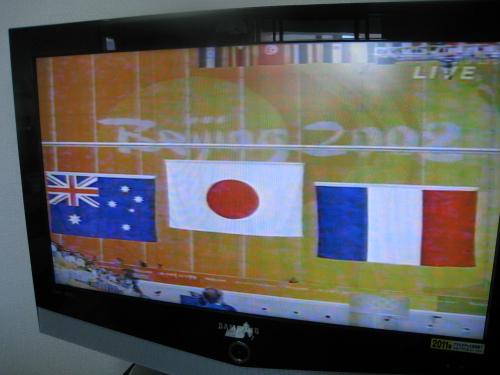 北京オリンピック観戦