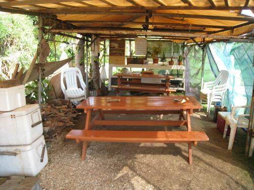 朝日会のテント