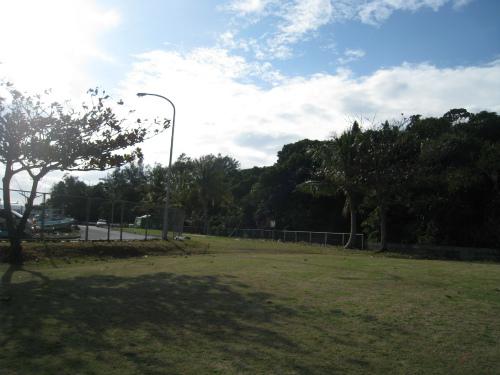 山城興善さんの畑と朝日会