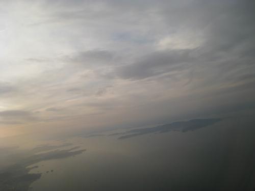 那覇空港から神戸へ