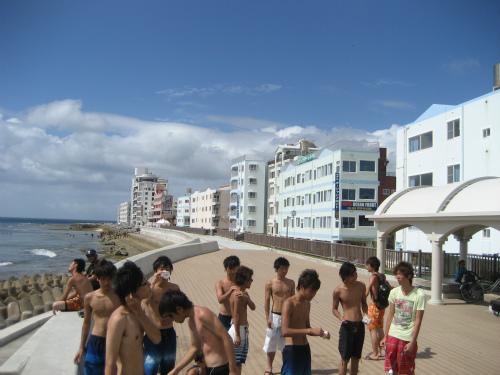 読谷の浜辺