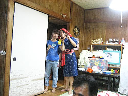 利絵ちゃんと登川喜永さんの長女さん