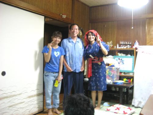 松葉博雄と記念撮影