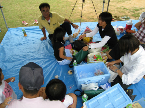 東山のびのび保育園の運動会