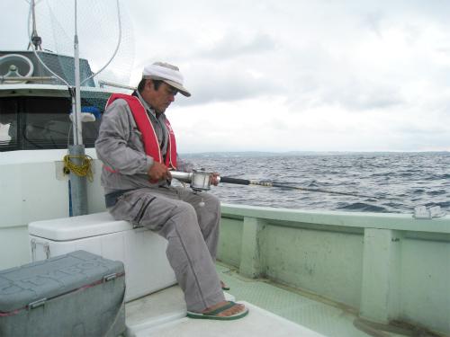 マグロ釣りへ