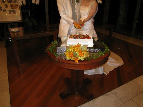 万国津梁館で結婚式