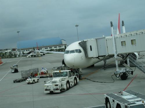 沖縄那覇空港から神戸へ