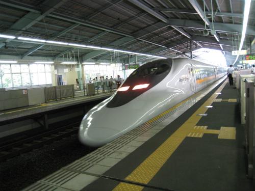 新神戸から博多へ