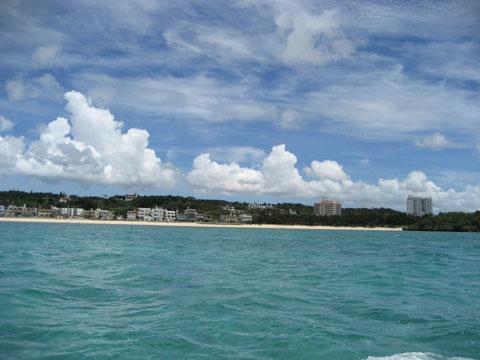 沖縄県:タイガービーチと冨着海岸