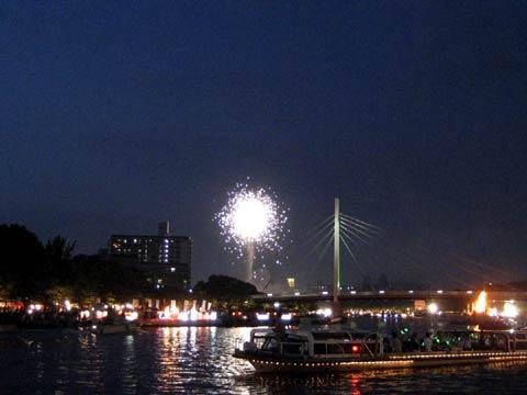 松葉博雄のいい写真撮りたいな:「大阪天神祭の花火」