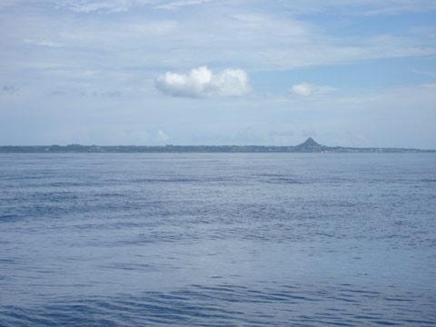 松葉博雄のいい写真撮りたいな:「沖縄県伊江島沖にて」
