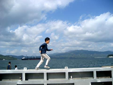 松葉博雄のいい写真撮りたいな:「空に駆ける少年」