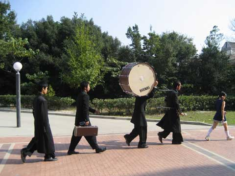松葉博雄のいい写真撮りたいな:「応援団が行く」