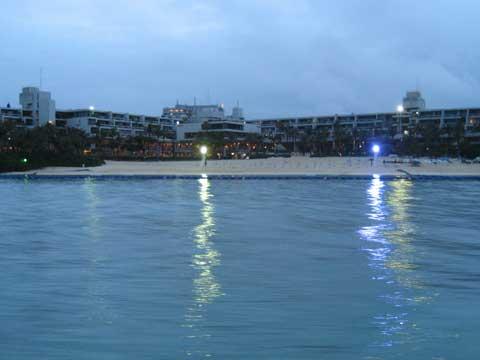 松葉博雄のいい写真撮りたいな:「ムーンビーチの黄昏」