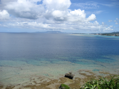 松葉博雄のいい写真撮りたいな:「時間とお金で買えない処 沖縄の真栄田岬」