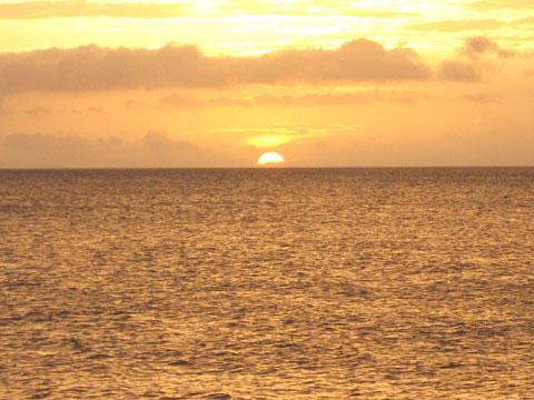 松葉博雄のいい写真撮りたいな:「東シナ海に沈む夕日」