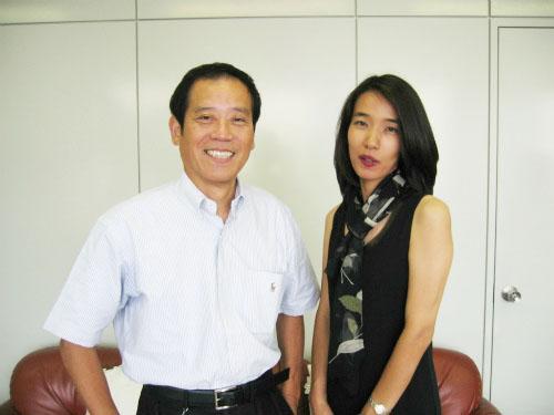 社長とKandaさん