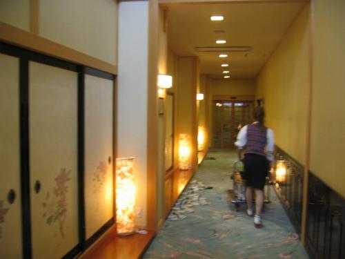 【かにツアー】海花亭の玄関