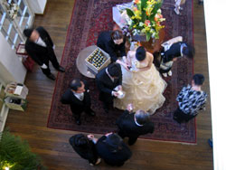 神戸北野ホテルでの結婚式