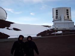 ハワイ島マウナケア山頂のすばる望遠鏡