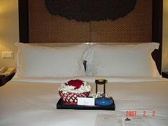 コンラッドホテルは、出来たばかりで、とても綺麗なホテルでした