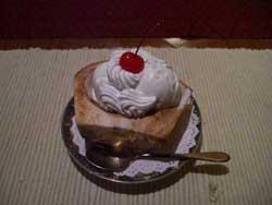 ココナッツのアイスクリーム
