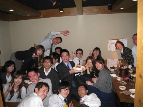 スタッフの誕生会