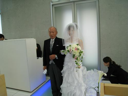 Hさんの結婚式