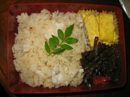 桜鯛の鯛飯作り