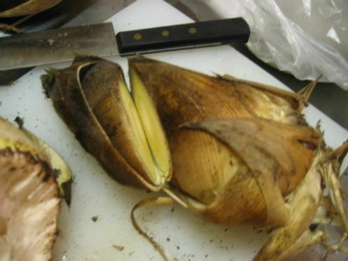 筍のすき焼き