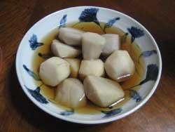 丹波篠山の小芋の煮っ転がし