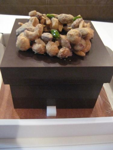 芦屋ベリーニのクリスマスケーキ